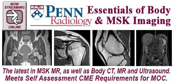 Penn Radiology's Essentials of Body & MSK Imaging