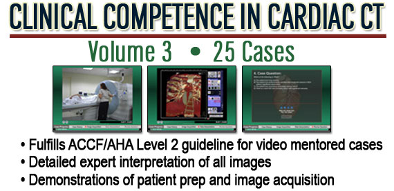 Clinical Competence in Cardiac CT Volume 3