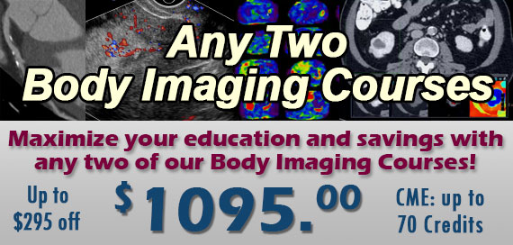 Any 2 Body CT/MR Courses