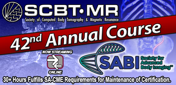 SCBT-MR 42nd Annual Course (2019)